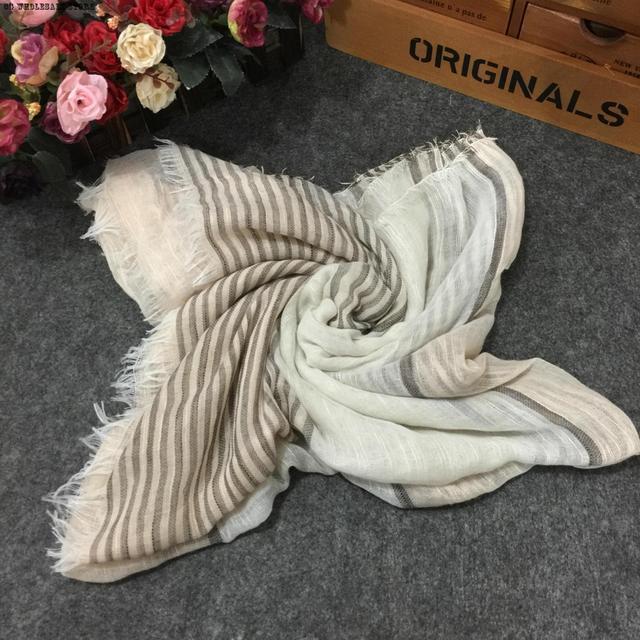 Mulheres inverno Cachecol De Luxo Cachecol Poncho Xailes E Cachecóis Xale De Algodão de Linho 95 cm * 200 cm de Manta de Retalhos