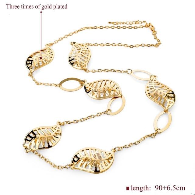 Фото toucheart на заказ длинная цепочка дизайнерское ожерелье с полыми цена