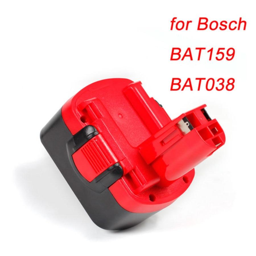 Cncool 14.4 v 8.0Ah Outil batterie Pour Bosch BAT159 BAT038 BAT140 BAT040 BAT041 NI-MH Batterie remplacement Accumulateurs Batterie Cellulaire