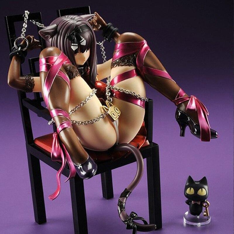 Anime Abraçar Japão Planeta do Gato e Cadeiras Brinquedos Pvc Sexy Figura de Ação Menina 1/10 Sexy Coleção Modelo Brinquedos