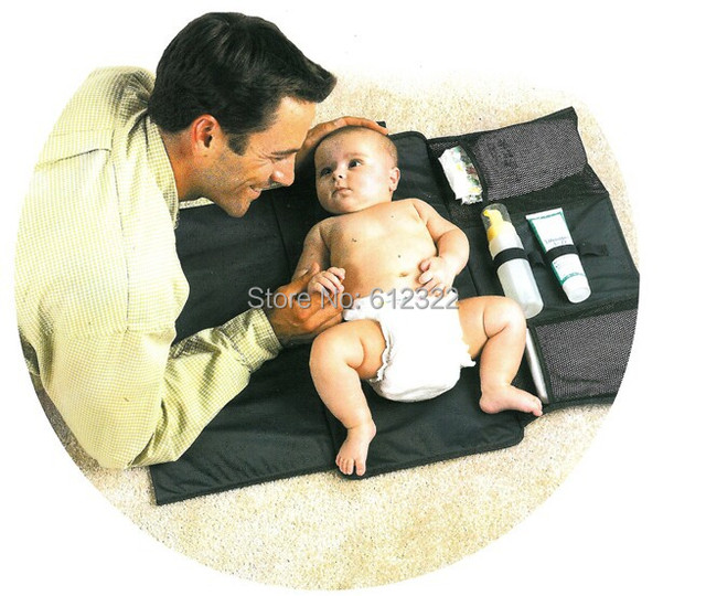 free shipping portable baby changing pads mat baby diaper pad waterproof covers