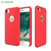 FLOVEME For IPhone 7 4 7 Case Candy Color Silky Soft TPU Silicon Phone Bag Cases