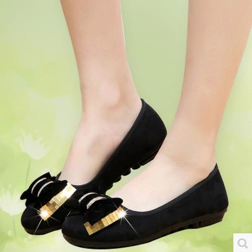 Women Shoes Autumn Boots Fall 2014 New Authentic Flat With Fashion