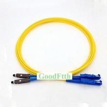 Puente de cable de conexión de fibra E2000 MU UPC E2000/UPC MU/UPC SM dúplex GoodFtth 20 50m