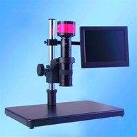 FGHGF электронный цифровой микроскоп 2 мегапиксельная камера VGA 7 ЖК дисплей c монтажный объектив СВЕТОДИОДНЫЙ свет диагностические инструмен