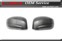 Car Styling Full Carbon Fiber Matte Finish Whole Side Mirror Covers Fit For 2008 2015 Skyline R35 GTR CBA DBA Side Mirror Frame|side mirror cover|carbon fiber mirror cover|carbon mirror cover -