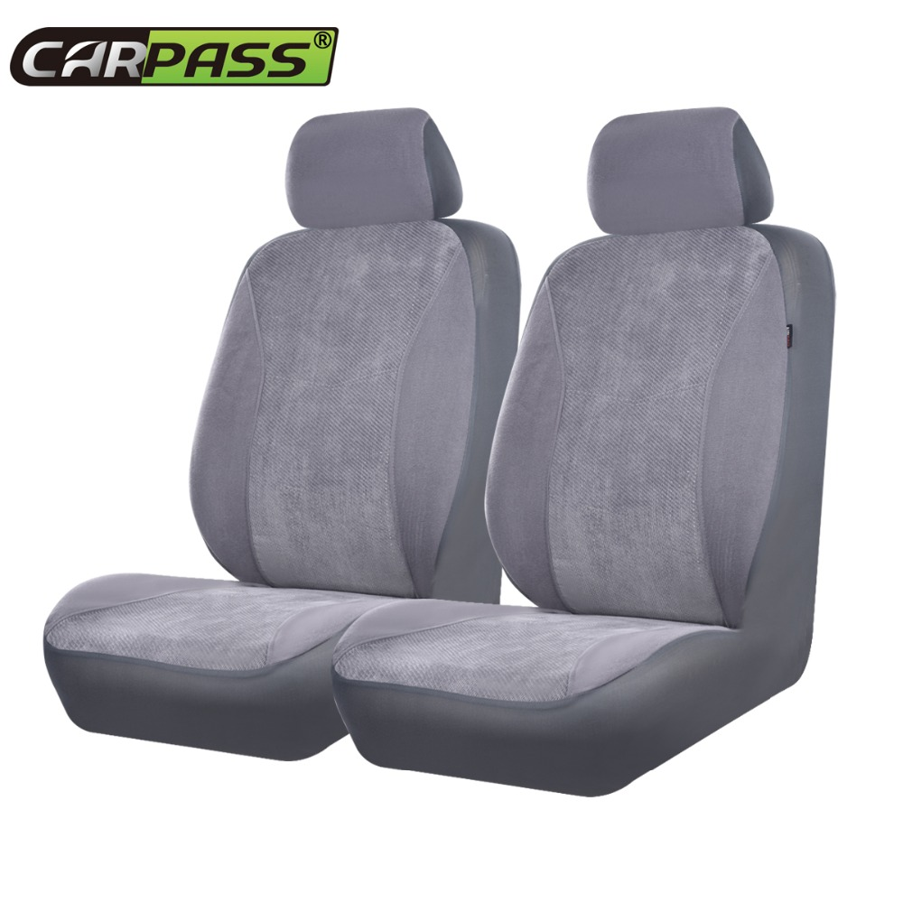 Car pass corduroy covers for car seats universal car - Car seat covers for tan interior ...