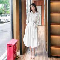 Women Summer Bohemian Dress 2019 New Fashion Elegant pure color Vintage Dresses Sleeveless Beach Boho Loose Plus Size Dress