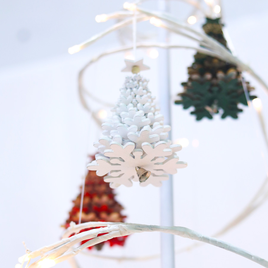 12Pcs Fake Ice Icicle Hanging Christmas Tree Ornament Xmas Party Home Decor Well