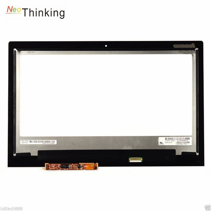 NeoThinking LCD Screen Display AssemblyFor Lenovo Yoga 2 13 Touch Screen Digitizer Assembly 1920x1080 free shipping image