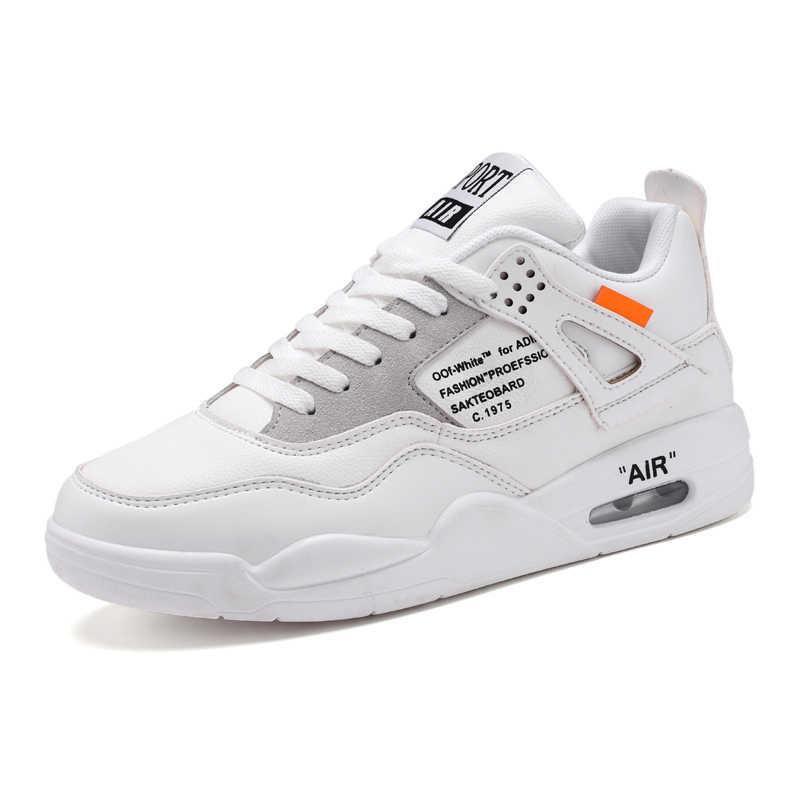 cd6bf2e707d8 JINBEILE Men Air Sneakers Jordan 4 Men Basketball Shoes Tenis Masculino  Adulto Outdoor Sport Shoes Basketball