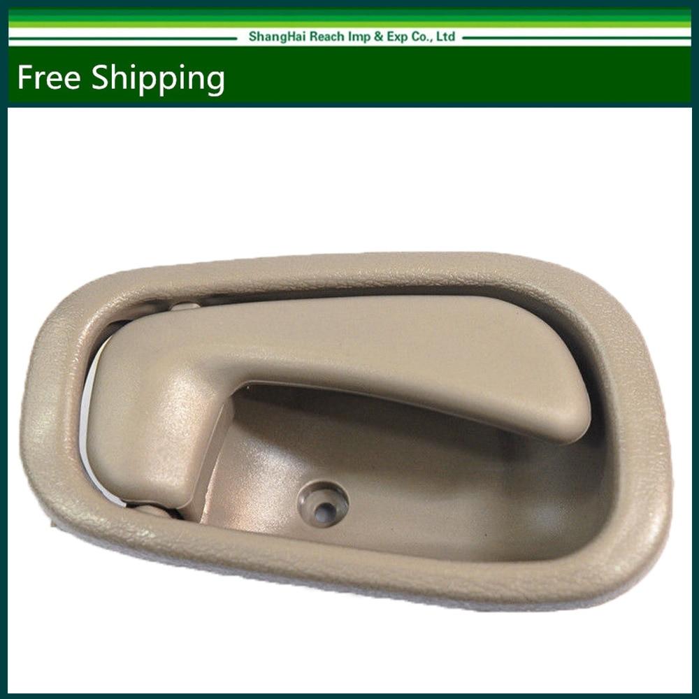 hight resolution of e2c interior door handle for toyota corolla chevrolet prizm beige tan 98 02 right 69205 02050 69205 02050b1 6920502050 in interior door handles from