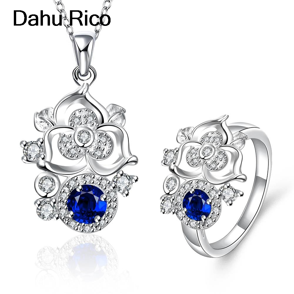 taki seti set jewelry white rojos azul purple cubic zirconia maitresse de boda prices in euros liverpool Dahu Rico jewelry sets ...
