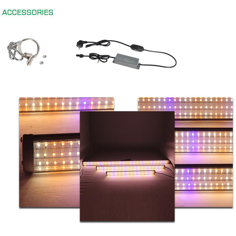 Image 5 - 3 Year Warranty LED grow light strip full spectrum fitolampy for indoor seedling Vegetable Greenhouse Grow Tent phyto lamp-in LED Grow Lights from Lights & Lighting