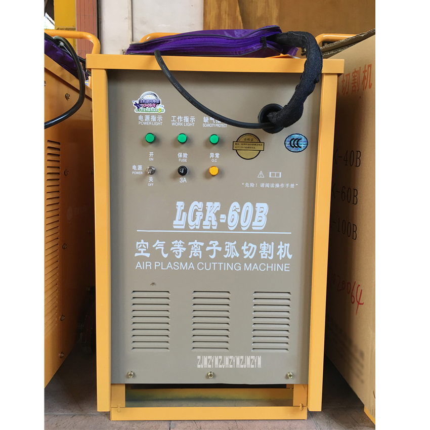 LGK-100B Air Plasma Schneiden Maschine Tragbare Schweißen Schneiden Ausrüstung Plasma Schweißer Drei-phase 380V 50/60Hz 60% 21,8 KVA 100A