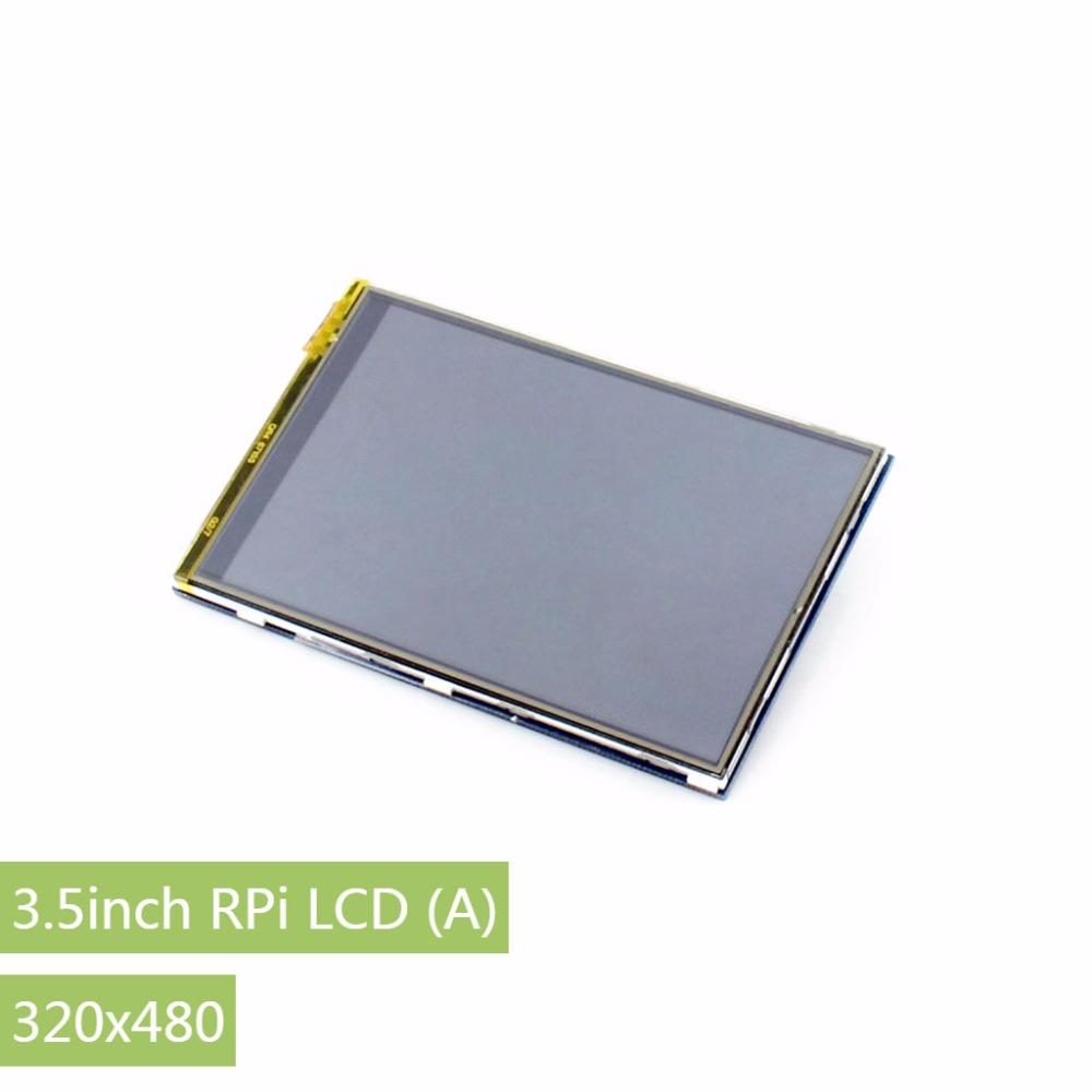 Parts Raspberry Pi LCD Display 3.5inch RPi LCD (A) 320*480 TFT Resistive Touch Screen Panel SPI Interface for all Raspberry-pi tengying l298n motor driver board for raspberry pi red