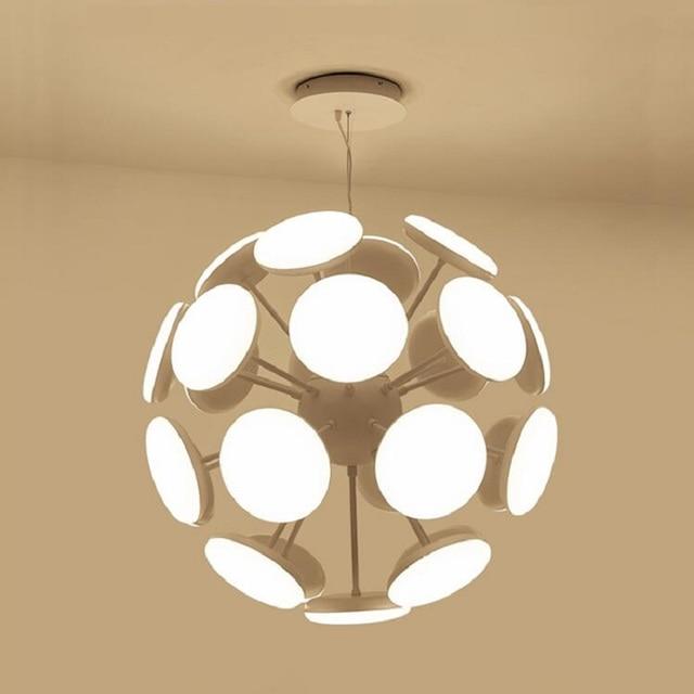 simple chandelier lighting. New Simple Led Modern Chandelier Lighting Art Ball Creative Chandeliers Lustre Living Room Restaurant Office P