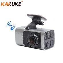 Wifi Coche DVR GPS de La Cámara DVR Grabador Automático Monitor de Vídeo Dash Cam Videocámara Full HD 1080 P de la Caja Negra de Gestos y de Voz fotografía