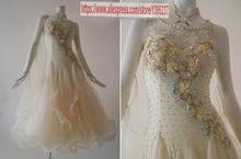 Ballroom Dresses Women New Design High Quality Customization Tango Flamenco Waltz Ballroom Competition Dance Dress