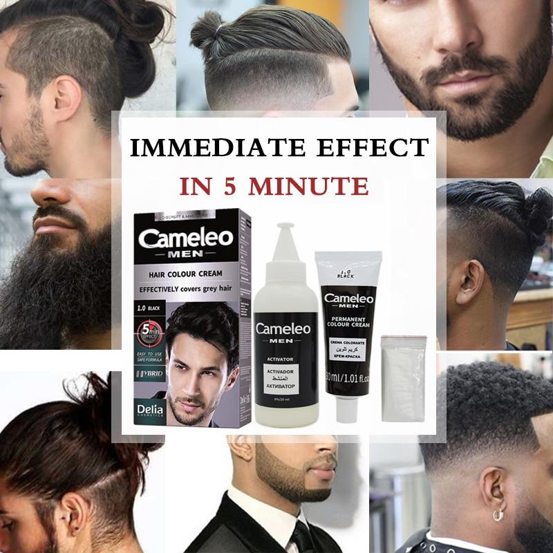 Delia Beard Moustache Temporary Henna Hair Color Wax Dye Paste Cream ...