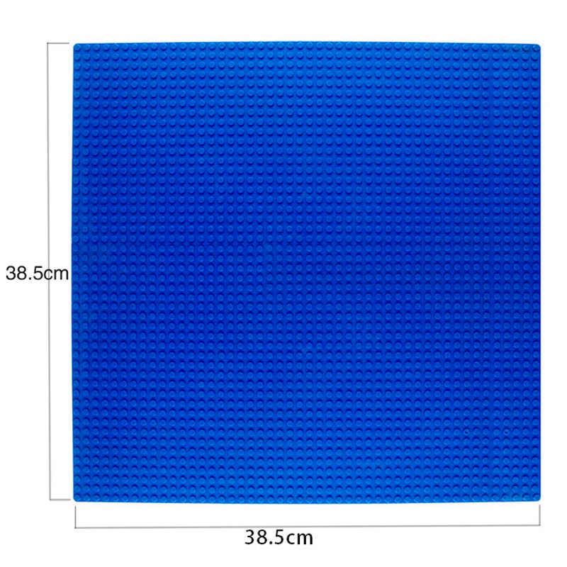 48*48 grundplatte Große Platz Kompatibel Legoingly Kunststoff Fußböden Ziegel für Kinder Dots Basis Platten Technik Bausteine DIY