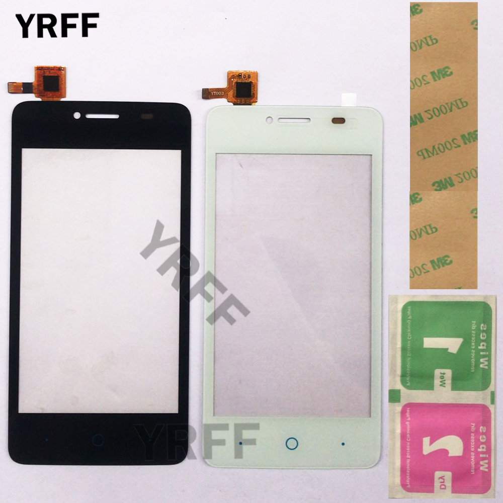 "4.0"" Mobile Touch Screen Panel For ZTE Blade AF3 T221 A5 Pro Touch Screen Digitizer Sensor Outer Glass Lens Panel Front Glass"