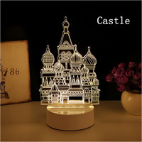 Many kinds creative night lights for room and holiday decoration children people liking beautiful new type Novelty Lights