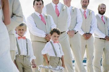 Latest Coat Pant Designs Champagne Best Men Suit Slim Fit 2 Piece Beach Groomsman Tuxedo Custom Suits Terno Masculino Vest+Pant