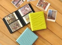 8 Colors Leaf Mini Fujifilm Holds 64 Photos Polaroid Instax Camera Album Photo Free Shipping