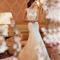 2016 Cheap Lace Sereia Do Vestido de Casamento do País Ocidental Vestidos de Casamento Vestido de Casamento Vestido de Noiva Vestido de Novia Sirena