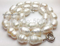 Women Gift Word Love Women Fashion Jewelry Free Shipping 10 12mm The White Tahitian Cultured Pearl