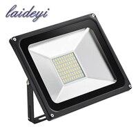 1 ADET toptan LED Işıklandırmalı 50 W IP65 AC220V Su Geçirmez Soğuk beyaz/sıcak beyaz Bahçe Işık Dış Spot LED sokak