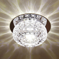 3W modern crystal ceiling light decorative living room crystal ceiling lamp corridor light aisle lighting