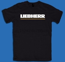 e9ca3a0a431 New Liebherr Logo Vector T Shirt Classic Clothing(China)