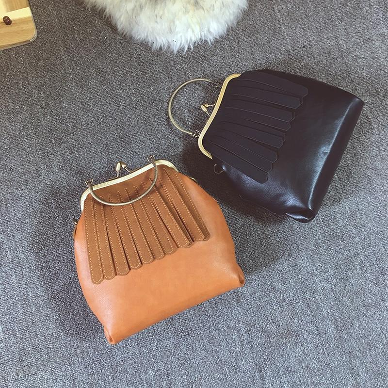 pequena bolsa de couro para Size : 25cm*23cm*9cm