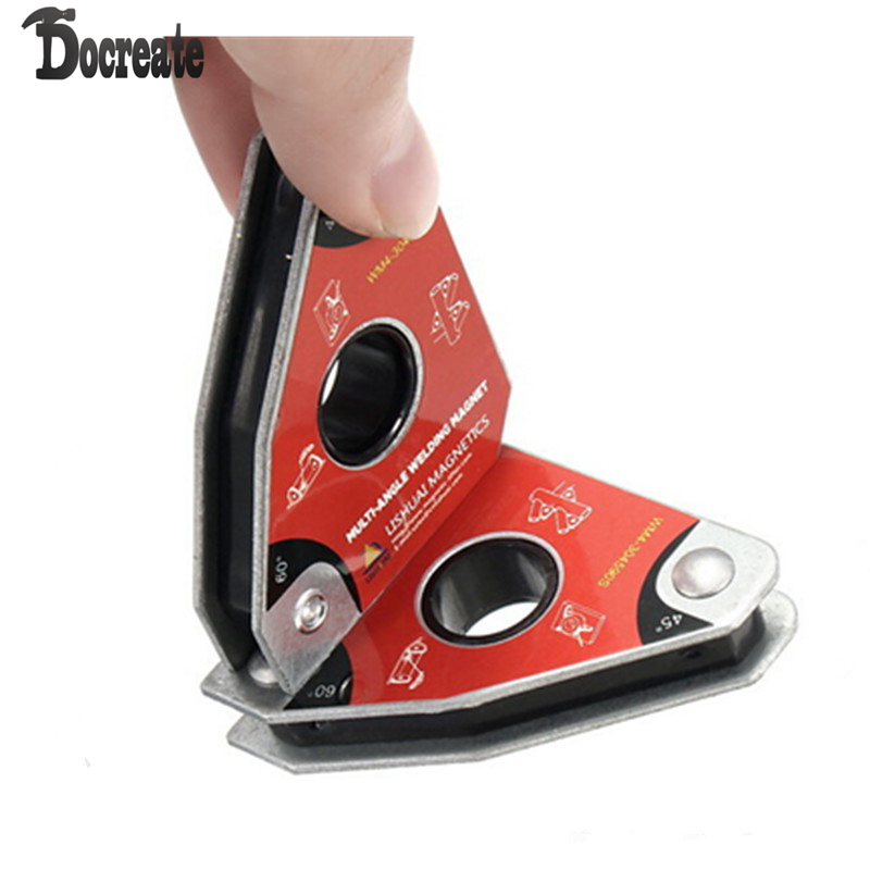 Multi angle Mini Welding Magnet Magnetic Clamp for Holding with Twin Pack