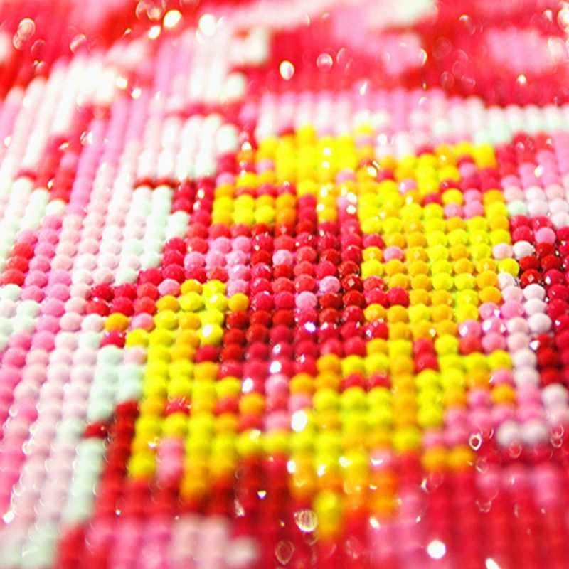トップ!-5D Diy ダイヤモンド塗装の愛風景ダイヤモンド刺繍風景クロスステッチラウンドラインストーンギフト