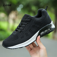 Sport Shoes 2018 New Shoes Woman Sneakers Women Running Outdoor Wedge Trainers Brand deportivas zapatos mujer