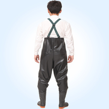 2017 Waterproof Breathable Fishing Waders PVC Stocking Foot Chest Waders Rafting Wear One-piece breathable Chest Fishing Waders