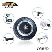 12 дюймов мотор колесо самокат электрический концентратор моторное колесо с ЖК дроссельной заслонки тормозной рычаг e велосипед конверсион