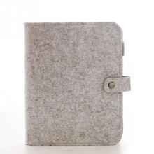 Notebooks Fühlte Shell Stoff Hinweis Nook Lose Blatt Inneren Kern A7 Notebook Tagebuch Plan Bindemittel Büro Liefert Ring Binder