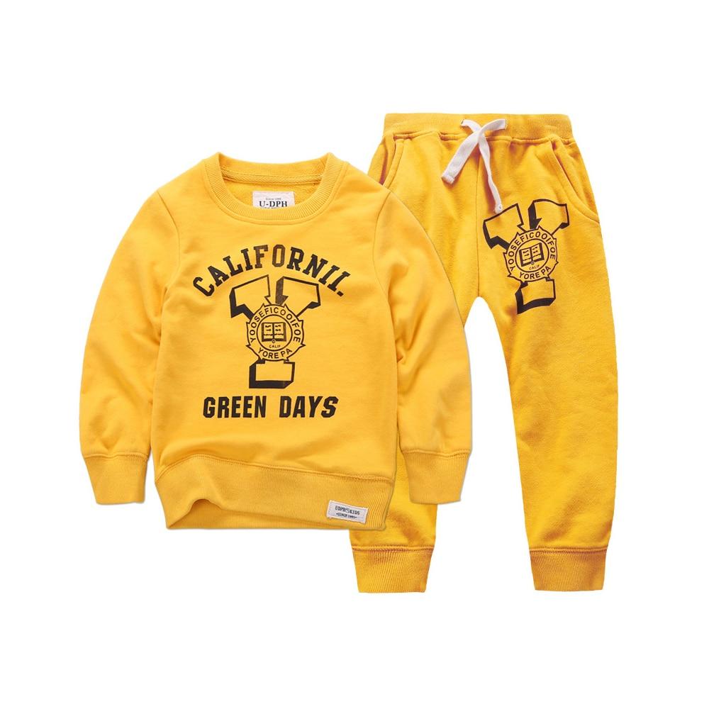 ФОТО 2016 New Winter Autumn Children Hoodies Sweatshirt Set Boys Girls Coat Kids Long Sleeve Casual Outwear Baby Clothing Set 3 color