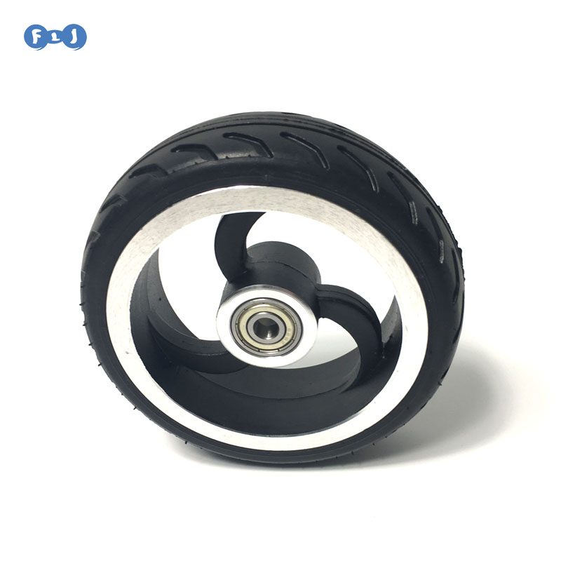 5 Inch Rear Wheel Back Wheel For Model S3 S2 I7 I6 Electric Scooter Kick Scooter Carbon Scooter 5inch Wheels
