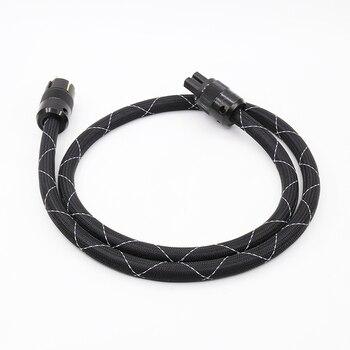 OEM de X DIY SAOF8N 5N cobre SCHUKO Cable de alimentación EUR poder plug Cable de alimentación para CD y DVD AMP
