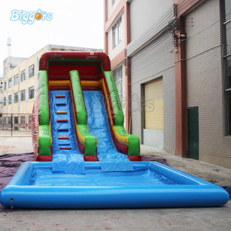 Giant Inflatable water park slides water slides inflatable water pool with blowers backyard slides park inflatable water slide with pool for kids