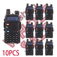 Special Offer 10 Pcs BAOFENG UV5R Radio Dual Band Walkie Talkie UV 5R