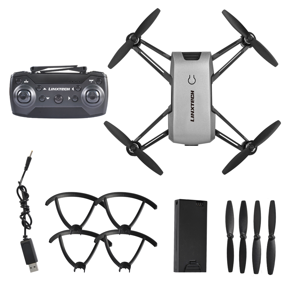 Linxtech IN1802 2.4GHz 720P Wifi FPV Cute Selfie Mini Drone with Camera Helicopter Altitude Hold RC Drone Quadcopter Foldable linxtech in1601 480p 720p mini rc drone with camera wifi fpv foldable altitude hold quadcopter remote control helicopter toys