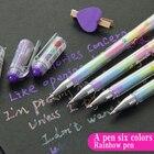 4 pcs/set Rainbow pe...