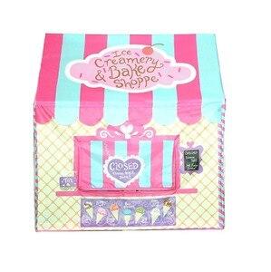 Image 1 - 어린이 텐트 놀이 집 핑크 그린 두 가지 색상 성 텐트 공주 어린이 놀이방 장난감 텐트