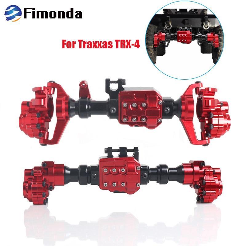 TRX4 Aluminum Front and Rear Portal Axle Housing for 1 10 RC Crawler Car Traxxas TRX